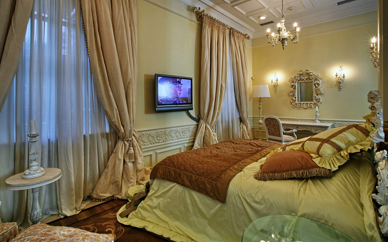 интерьер спальни - фото № 15765