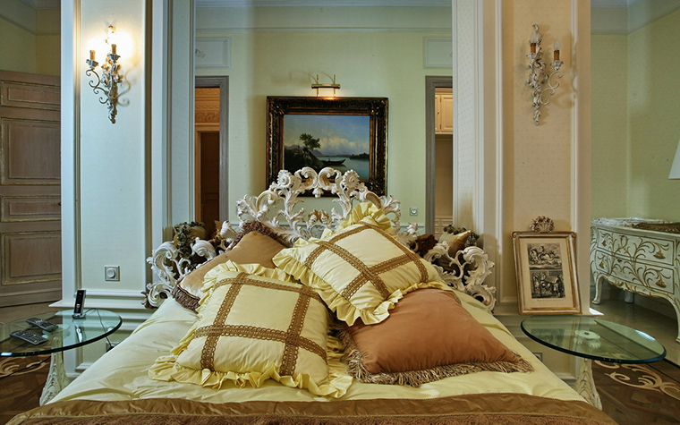 интерьер спальни - фото № 15766