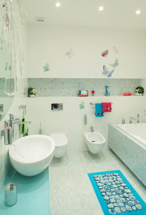 Загородный дом. ванная из проекта , фото №15992