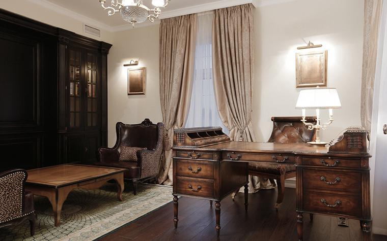 интерьер кабинета - фото № 16232