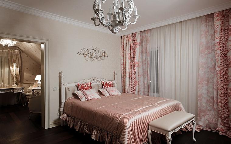Фото № 16225 спальня  Загородный дом