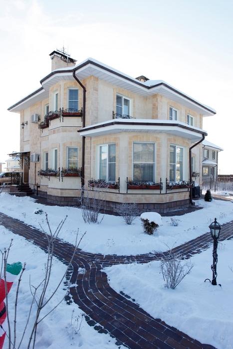 Загородный дом. фасад из проекта , фото №16279