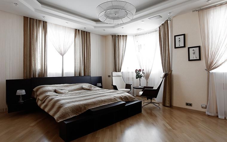 Загородный дом. спальня из проекта , фото №16372