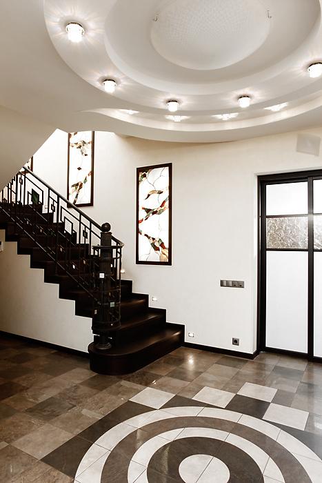 Загородный дом. холл из проекта , фото №16291