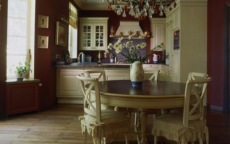 Загородный дом. кухня из проекта , фото №16315