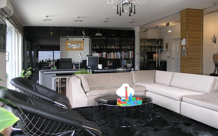 интерьер гостиной - фото № 16398