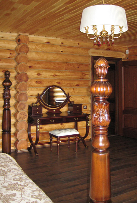 Загородный дом. спальня из проекта , фото №16451