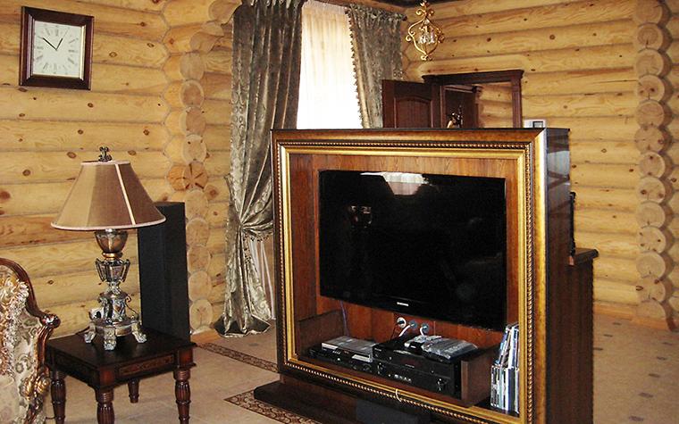 Загородный дом. гостиная из проекта , фото №16437