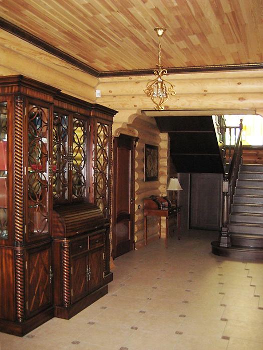Загородный дом. холл из проекта , фото №16449