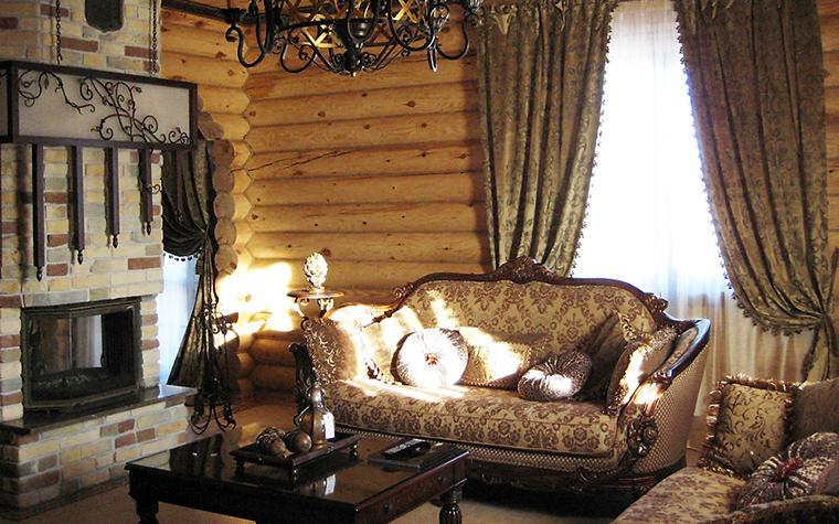 Загородный дом. гостиная из проекта , фото №16438