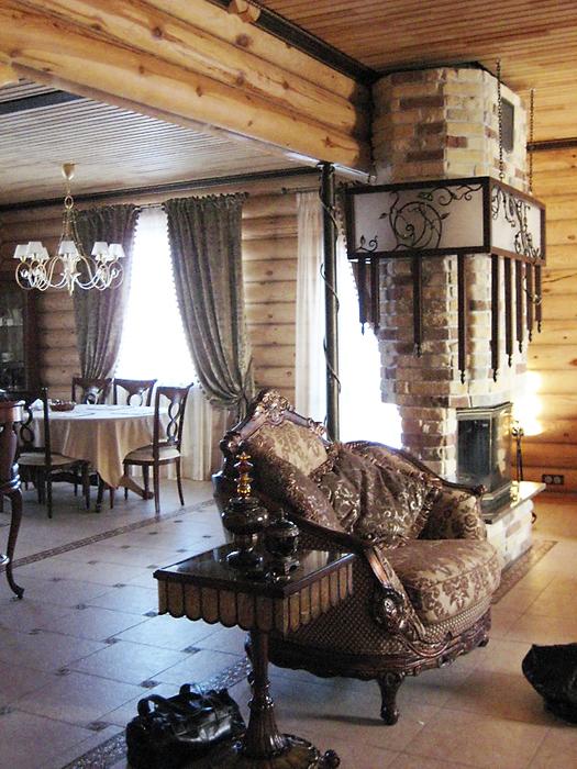 Загородный дом. гостиная из проекта , фото №16439