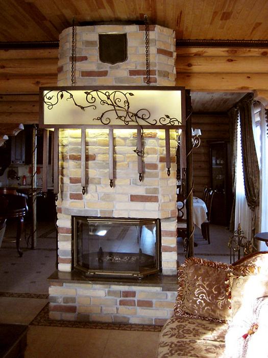 Загородный дом. гостиная из проекта , фото №16441