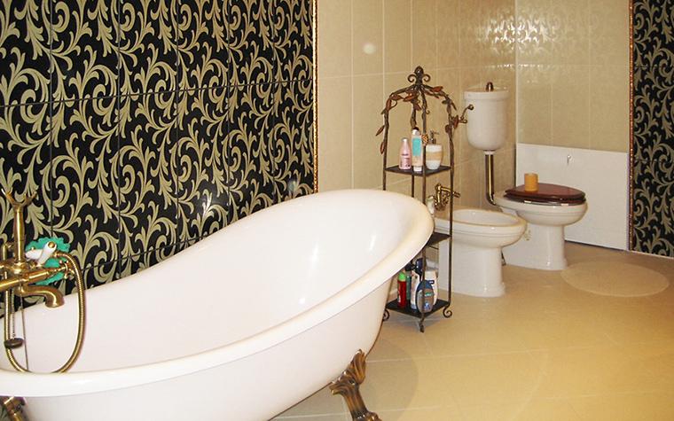 Загородный дом. ванная из проекта , фото №16447