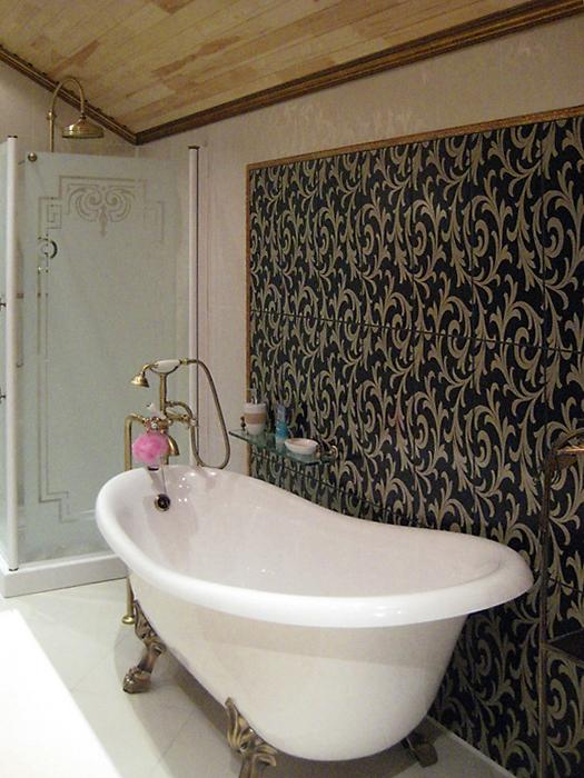 Загородный дом. ванная из проекта , фото №16448