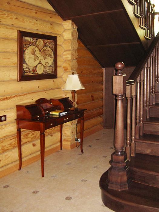 Загородный дом. холл из проекта , фото №16454
