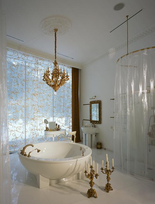 Загородный дом. ванная из проекта , фото №16466