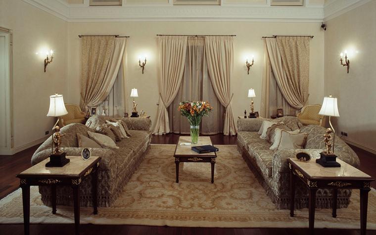 интерьер гостиной - фото № 16817