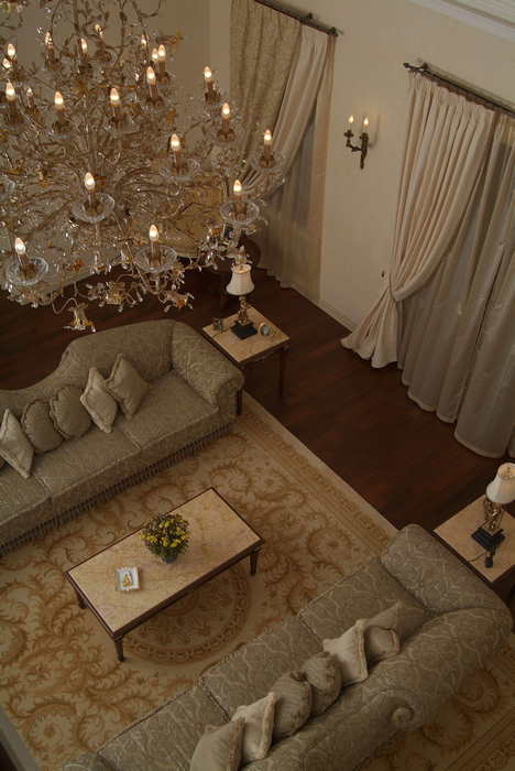 интерьер гостиной - фото № 16819