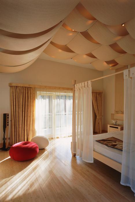 Фото № 17018 спальня  Загородный дом