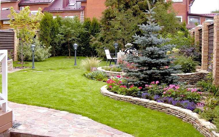 15 садовых участков. Разнообразие дизайна