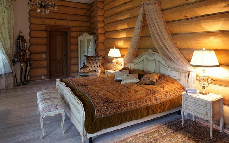 Фото № 17239 спальня  Загородный дом