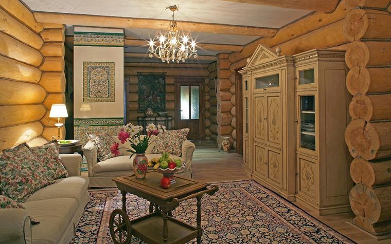 интерьер гостиной - фото № 17248