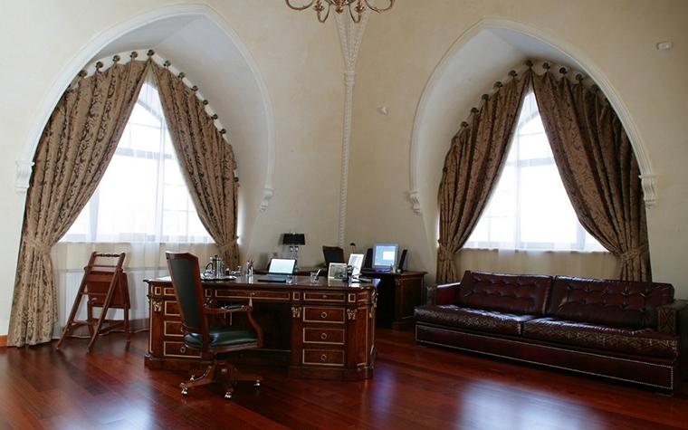 Фото № 17266 кабинет библиотека  Загородный дом