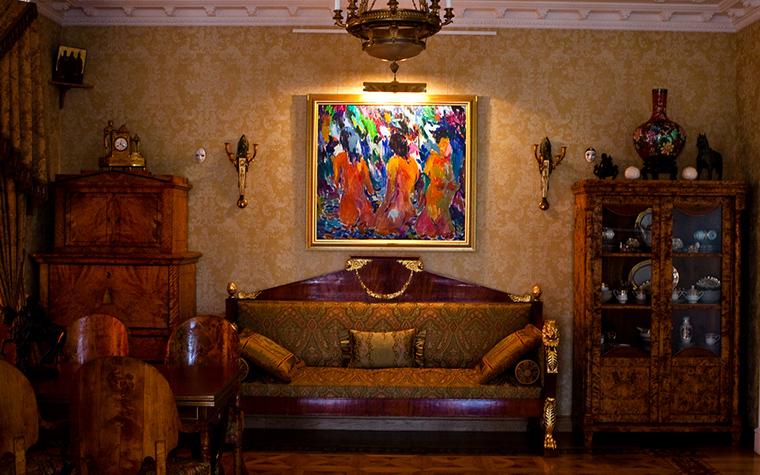 Загородный дом. гостиная из проекта , фото №17287
