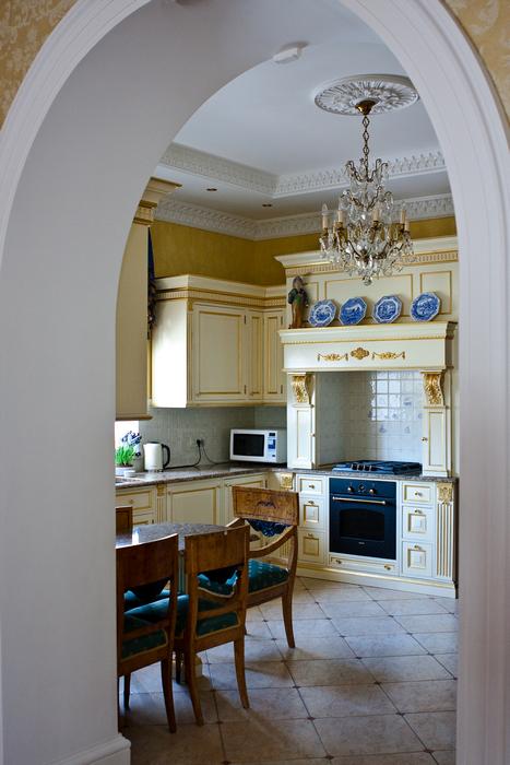 Фото № 17289 кухня  Загородный дом