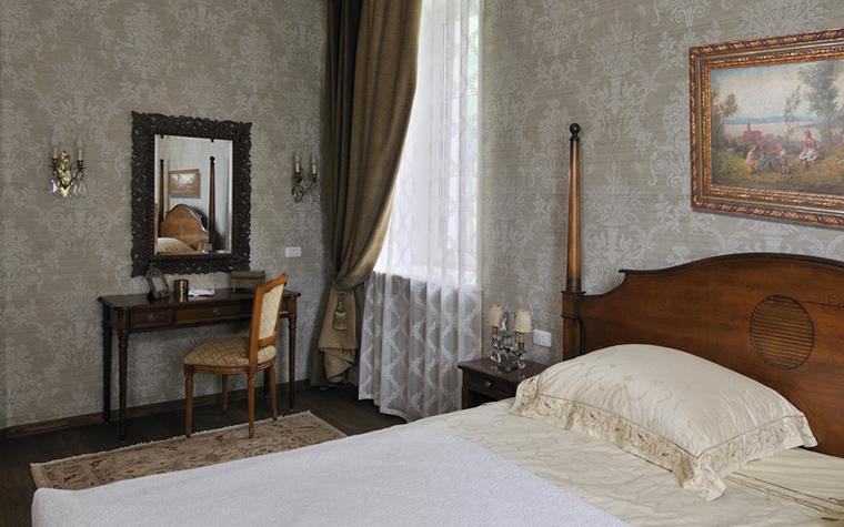 Загородный дом. спальня из проекта , фото №17381