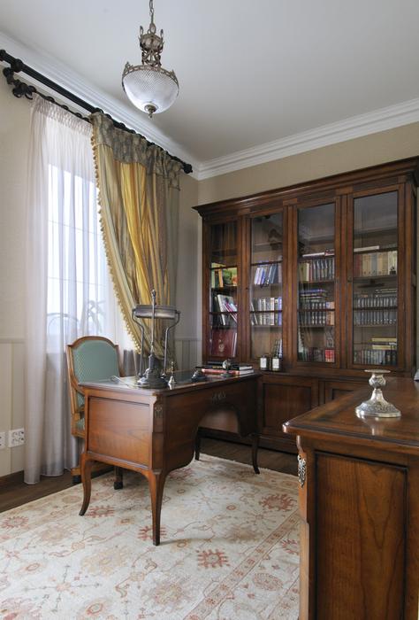 интерьер кабинета - фото № 17383