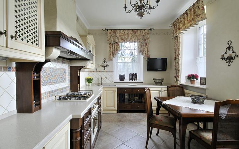 Загородный дом. кухня из проекта , фото №17376