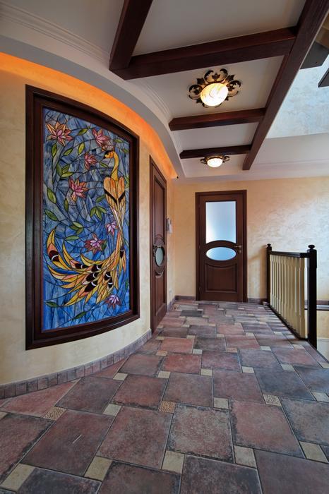 Загородный дом. холл из проекта , фото №17559