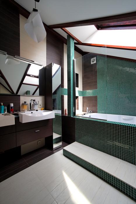 Загородный дом. ванная из проекта , фото №17553