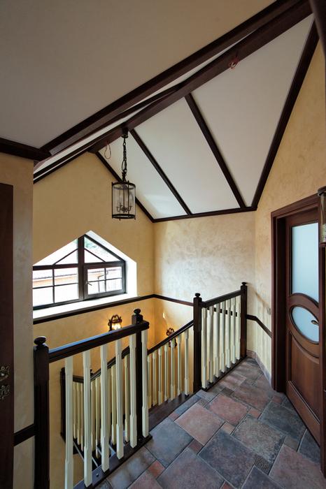 Загородный дом. холл из проекта , фото №17562