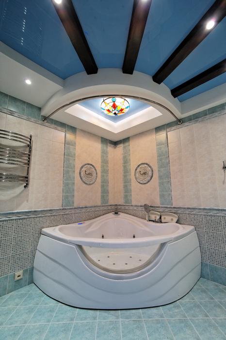 Загородный дом. ванная из проекта , фото №17558