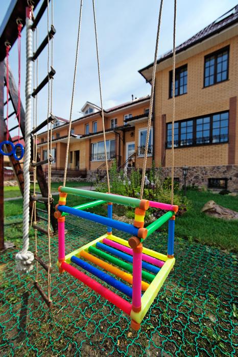 Загородный дом. детская площадка из проекта , фото №17568