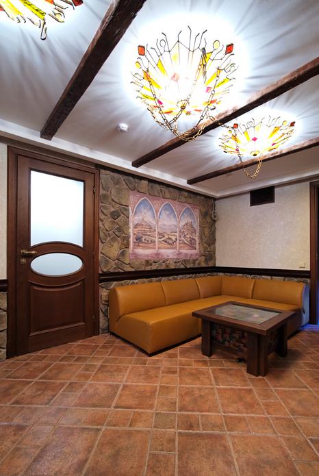 Загородный дом. холл из проекта , фото №17569