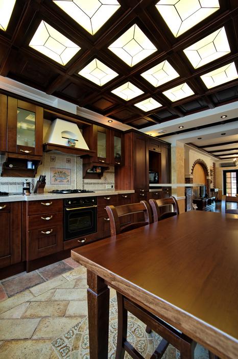Загородный дом. кухня из проекта , фото №17550