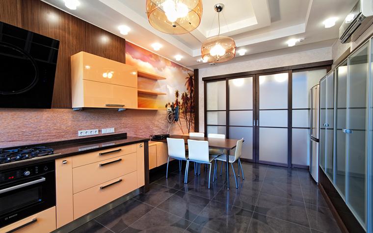 Фото № 17444 кухня  Загородный дом