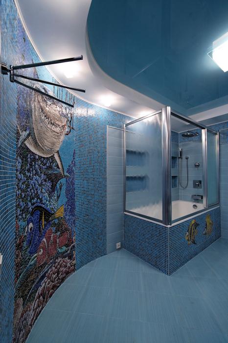 Фото № 17438 ванная  Загородный дом