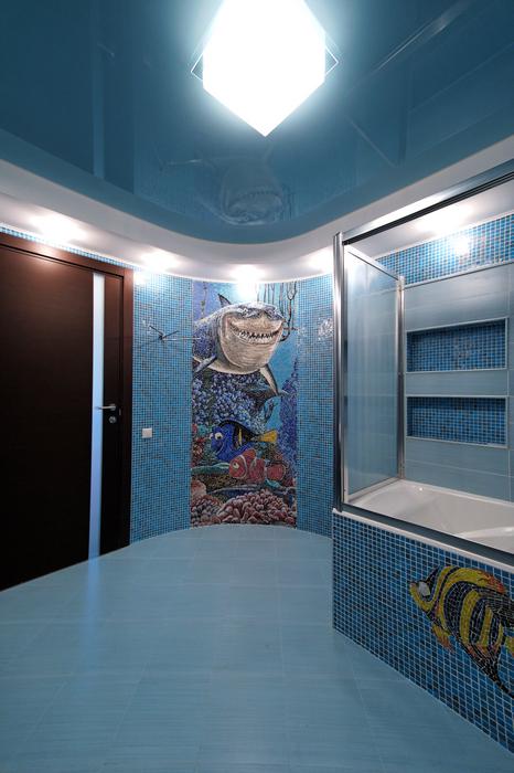Фото № 17439 ванная  Загородный дом