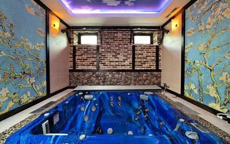 Фото № 17436 ванная  Загородный дом