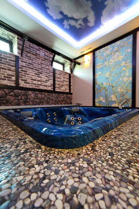 Фото № 17437 ванная  Загородный дом