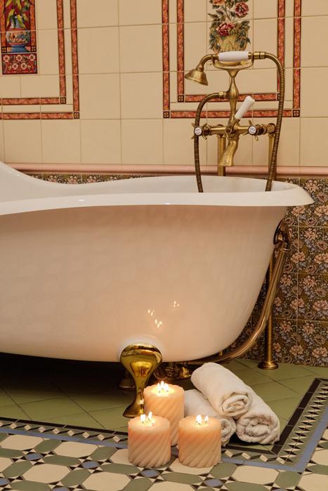 Загородный дом. ванная из проекта , фото №17579