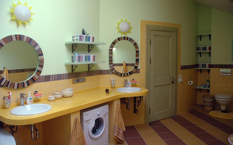 Фото № 17904 ванная  Загородный дом