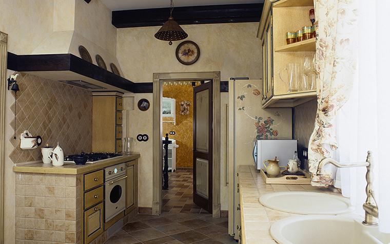 Фото № 17916 кухня  Загородный дом