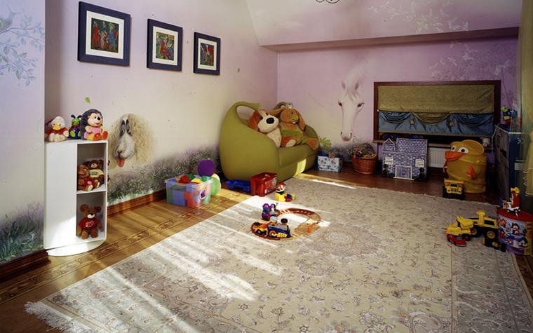 Фото № 17985 детская  Загородный дом