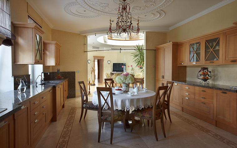 Фото № 18018 кухня  Загородный дом