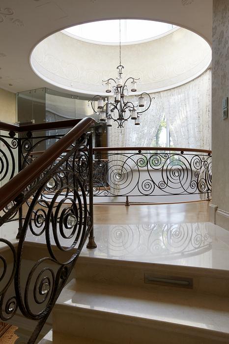 Загородный дом. холл из проекта , фото №18005